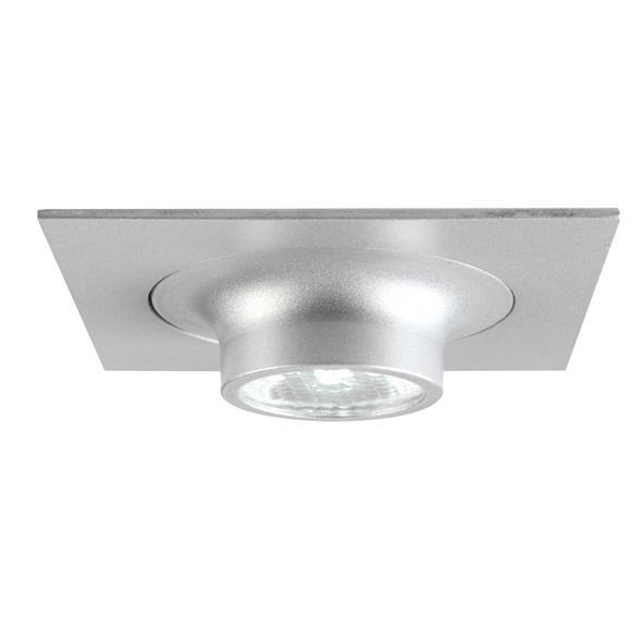 1357.S1/.. - CESAR X, inbouw plafond- en wandlicht - vierkant - down - aansluiting met lusterklem - met optische lens in een alu behuizing - zonder LED driver