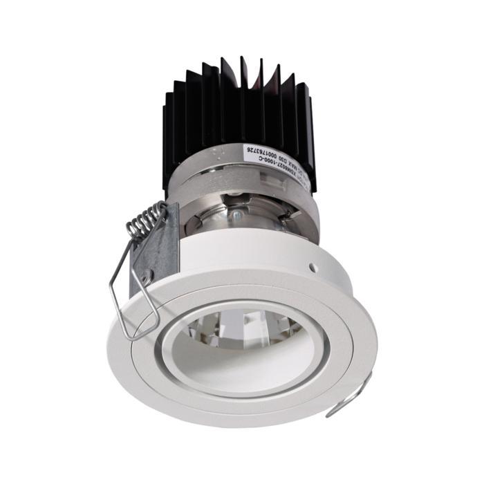 XTM.1300.10026.S1/.. - LUXOR Ø70, inbouwspot - rond - richtbaar - met led - zonder LED driver