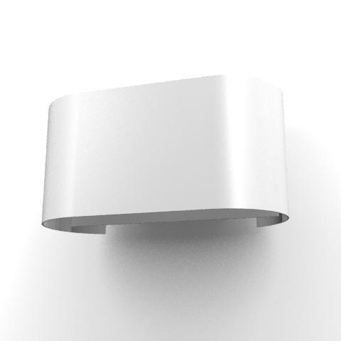1782B.IP20/.. - ENSOR XICATO, opbouw wandlicht - down/up - met led Halfhoge Ensor - met LED driver