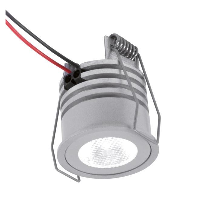 W1370/.. - FELIX, inbouwspot voor verandaprofielen - rond - vast - down - zonder LED driver