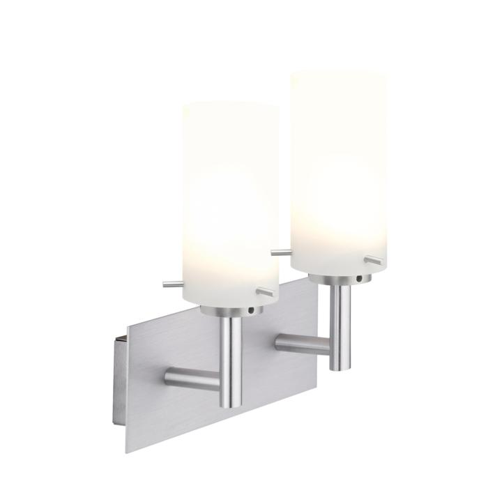 4027.W2/.. - GUILIA, built-up wall light - up - with glass