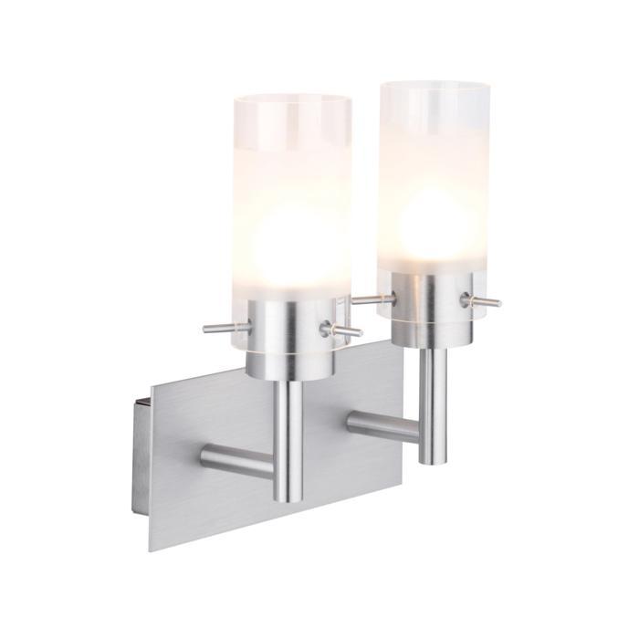 4026.W2/.. - GUILIA, opbouw wandlicht - up - met glas