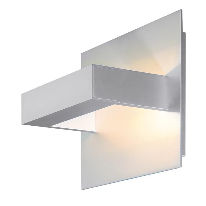 1400LED/.. - LOTUS LED, opbouw wandlicht - vierkant - vast - down/up