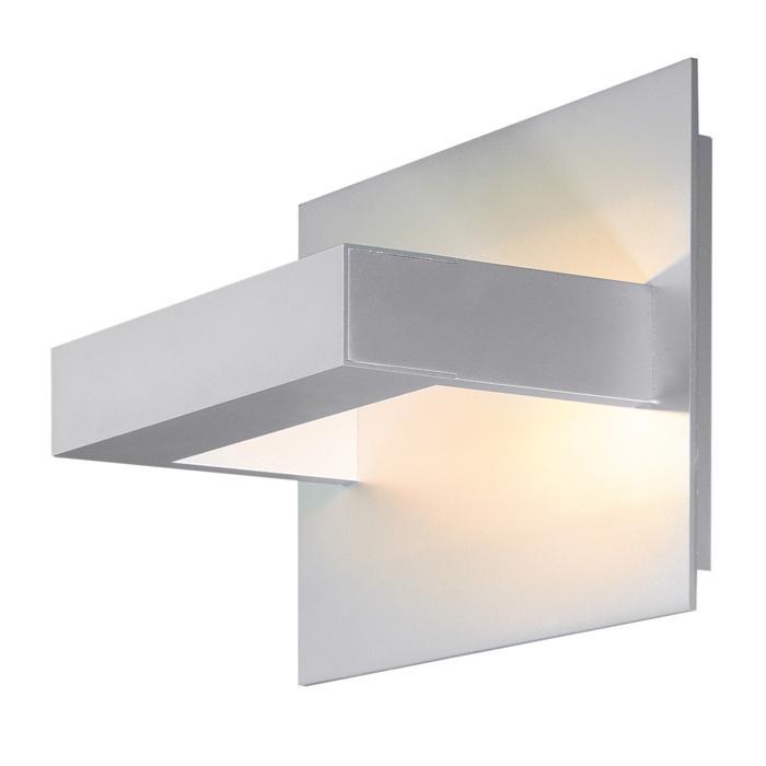 1402LED/.. - LOTUS UP LED, Wandleuchte für Aufbau - viereckig - fest - down/up