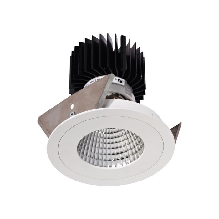 XTM.1300.10019.S2/.. - LUXOR Ø100, inbouwspot - rond - vast - met led - zonder LED driver