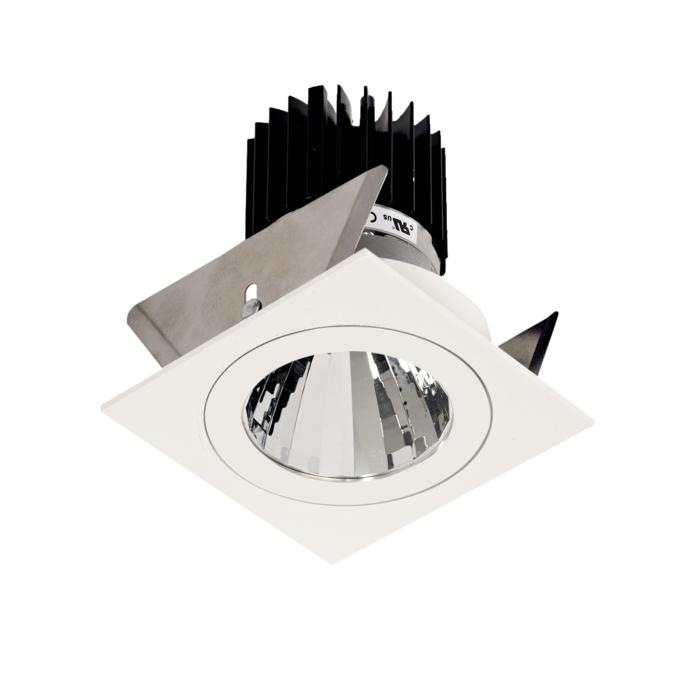 XTM.1300.10025.S2/.. - LUXOR Ø70, inbouwspot - vierkant - vast - met led - zonder LED driver