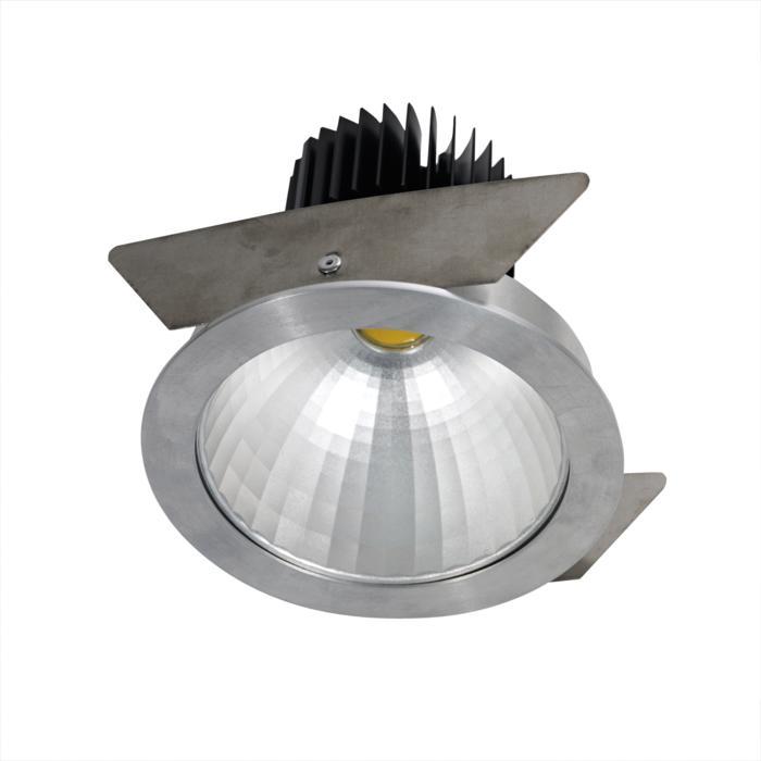4060.IP20/.. - LUXOR - INCA.IP20, inbouwspot - rond - vast - down - met led - zonder LED driver