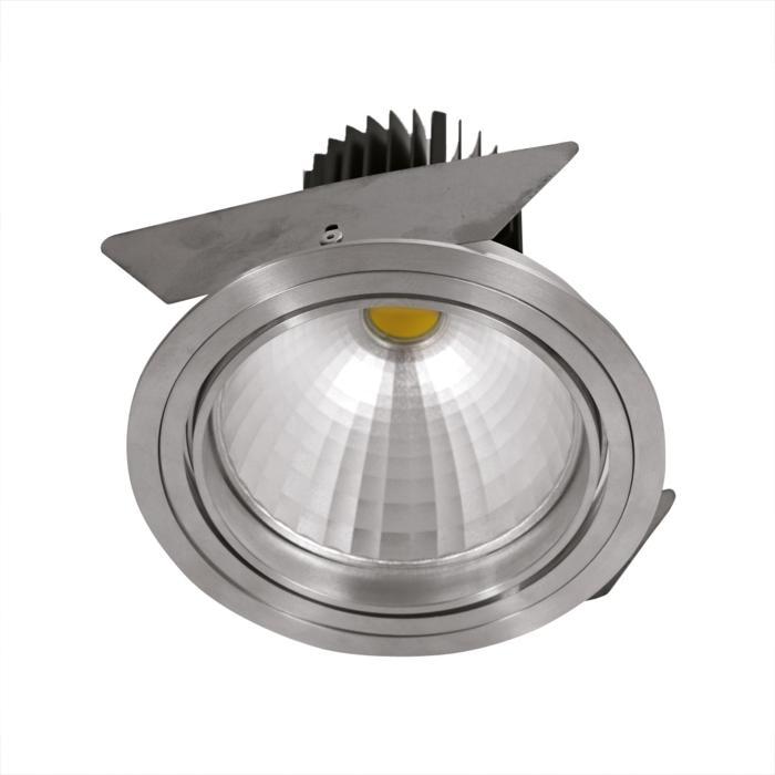 4061.IP20/.. - LUXOR - INCA.IP20, inbouwspot - rond - richtbaar - down - met led - zonder LED driver