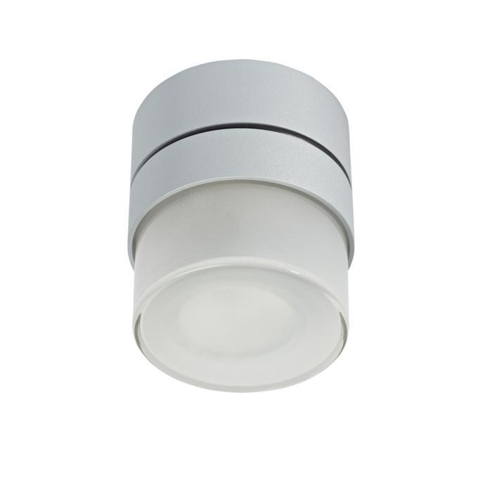 W3140/.. - MANTA UP DOUCHE, opbouw plafondverlichting - rond - vast - met hoog mat glas - zonder transfo