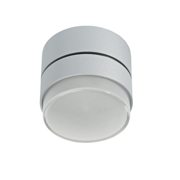 W3139/.. - MANTA UP, opbouw plafondverlichting - rond - vast - met hoog mat glas - zonder transfo