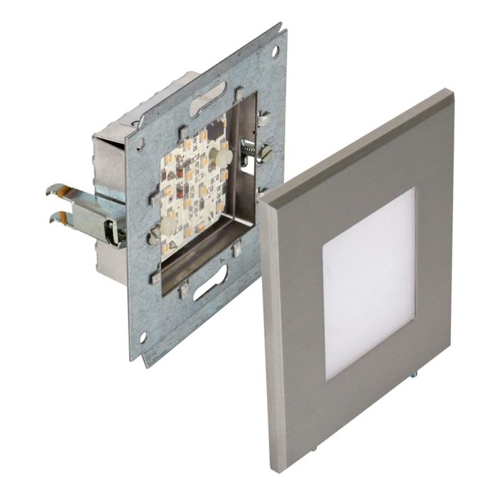 1630C/.. - MIA, built-in wall light - complete with cover plate