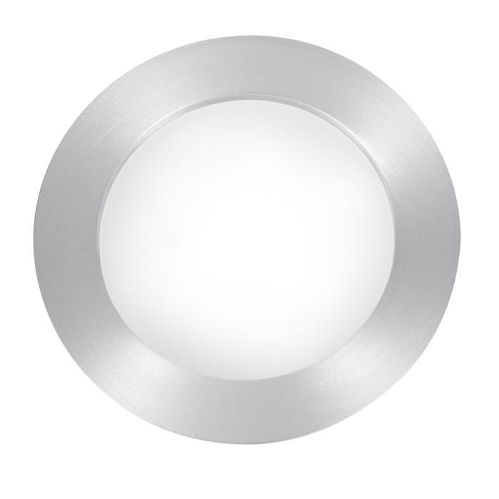 1626/.. - MIA ROND, inbouw wandlicht - met opale plexi (OP) - zonder transfo