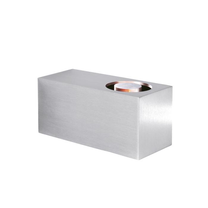 3043/.. - MICRO, opbouw wandlicht - vierkant - vast - met transfo