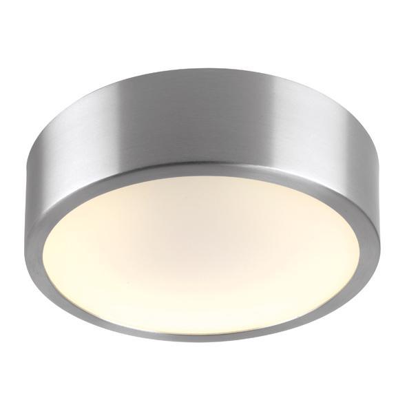 540/.. - MONET ROND LED, plafondverlichting - polycarbonaat - met LED driver