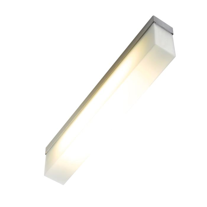 641.SL335/.. - MONET STRIP, built-up ceiling or wall light - stainless steel housing + polycarbonate cover - with magnetic gear
