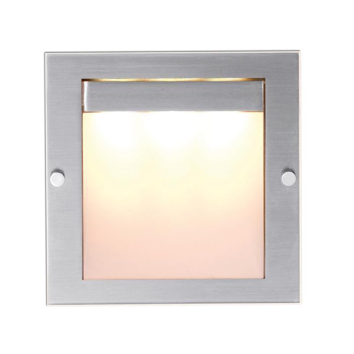 1248.LED.GL/.. - MOON + GLASS, inbouw wandlicht - zonder LED driver