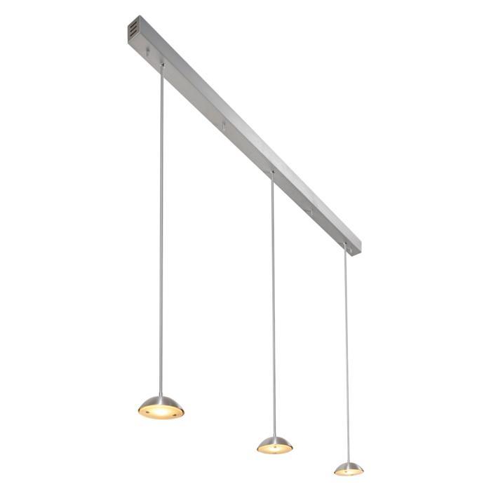 1826X3/.. - NAOMI SET 3 XICATO, hanglamp met bolgewricht - stang inkortbaar - met LED driver