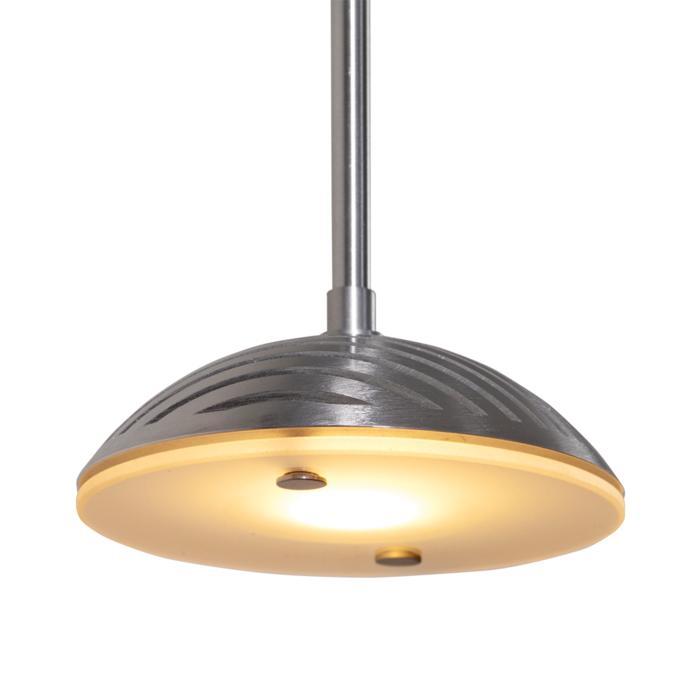 1824/.. - NAOMI XICATO, hanglamp met bolgewricht - stang inkortbaar - zonder LED driver