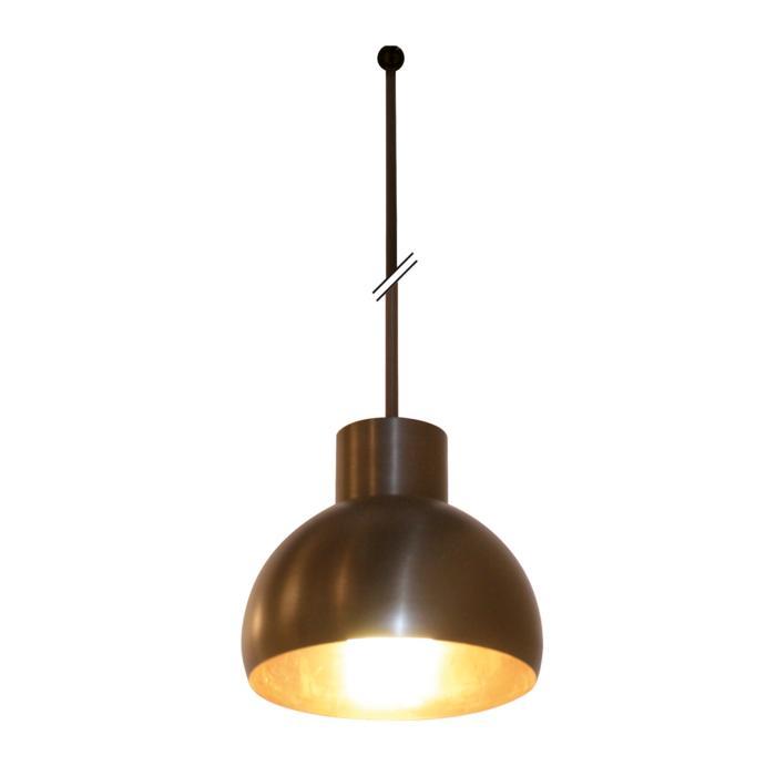 1807.B3.E27/.. - OLIVIA PENDEL E27, hanglamp met bolgewricht - stang inkortbaar