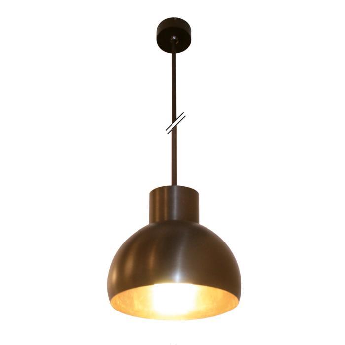 1807.B2.E27/.. - OLIVIA PENDEL E27, hanglamp met bolgewricht en opbouwdoos - stang inkortbaar