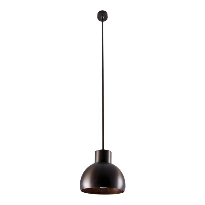 1818.B2/.. - OLIVIA PENDEL ES111, hanglamp met bolgewricht en opbouwdoos - stang inkortbaar