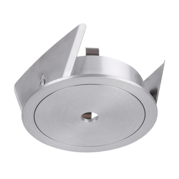 ONO/.. - Ø70, inbouwbasis voor spot of pendel - rond - zonder transfo