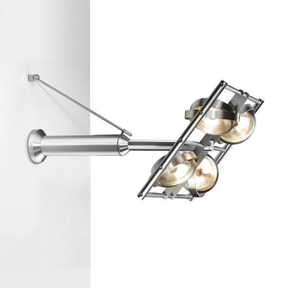 4010/.. - OPERA, opbouw wandlicht - richtbaar - met transfo