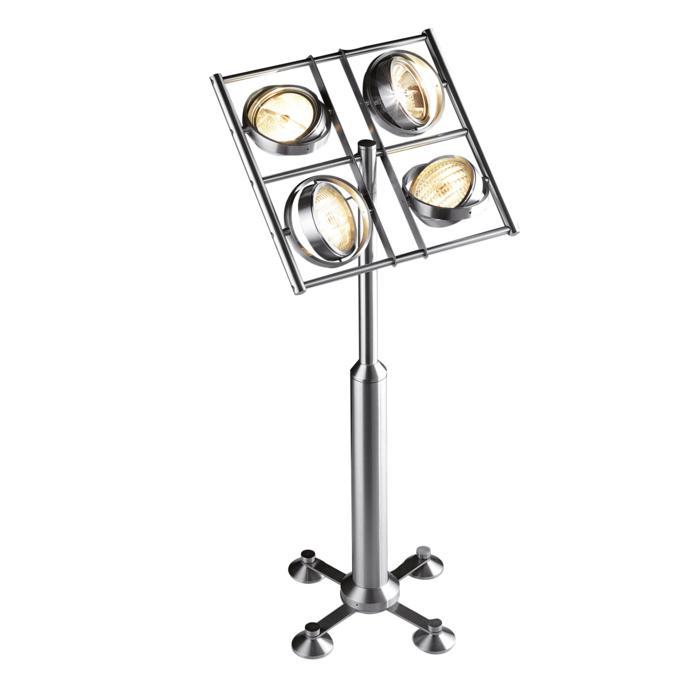 4011/.. - OPERA, staanlamp - met schakelaar - snoer en stekker - met transfo