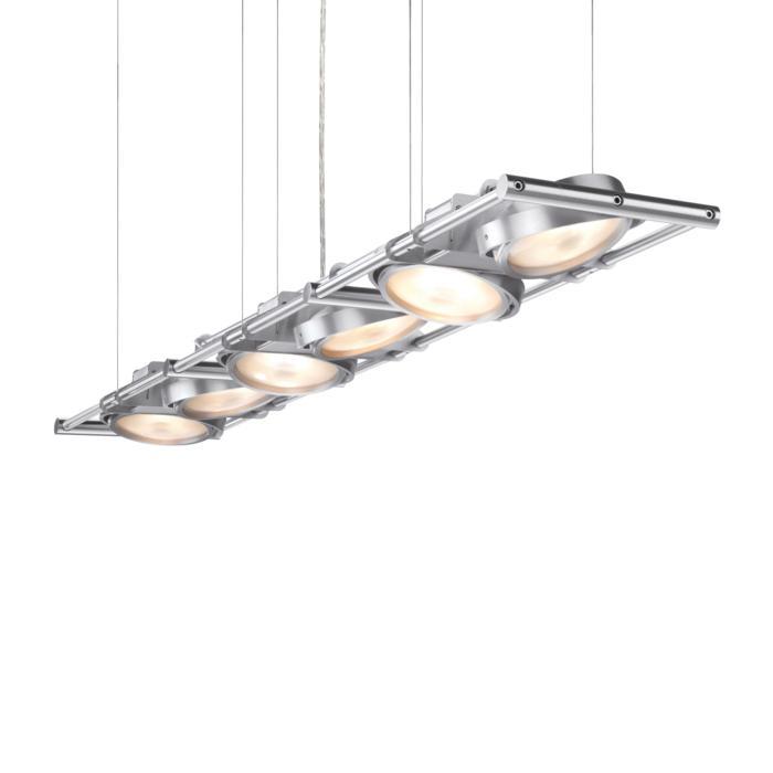 1438/.. - OPERA 6 IN LINE, hanglamp - richtbaar - met transfo