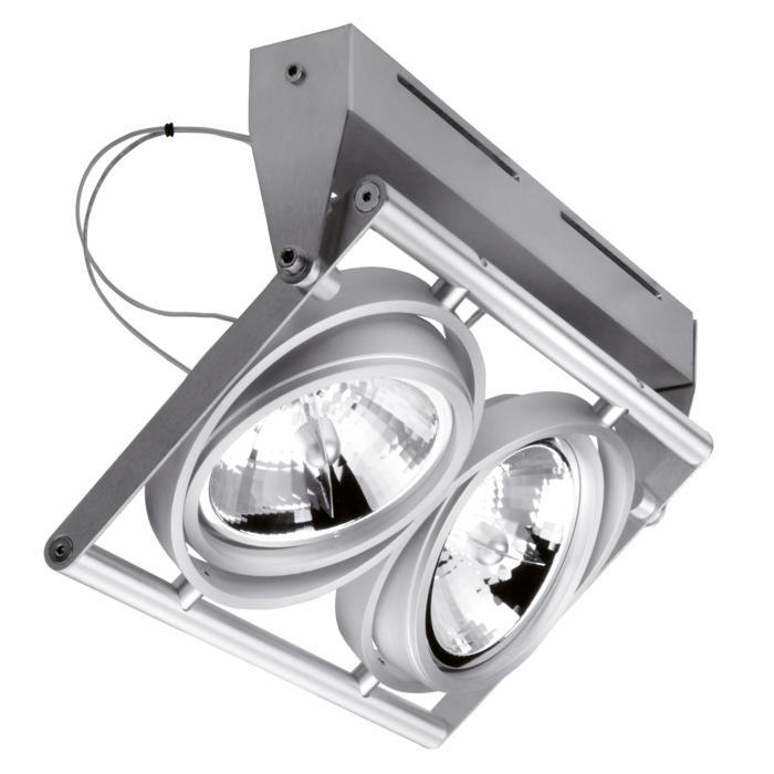 953/.. - OPERA, opbouw plafond -of wandlicht - richtbaar - met transfo