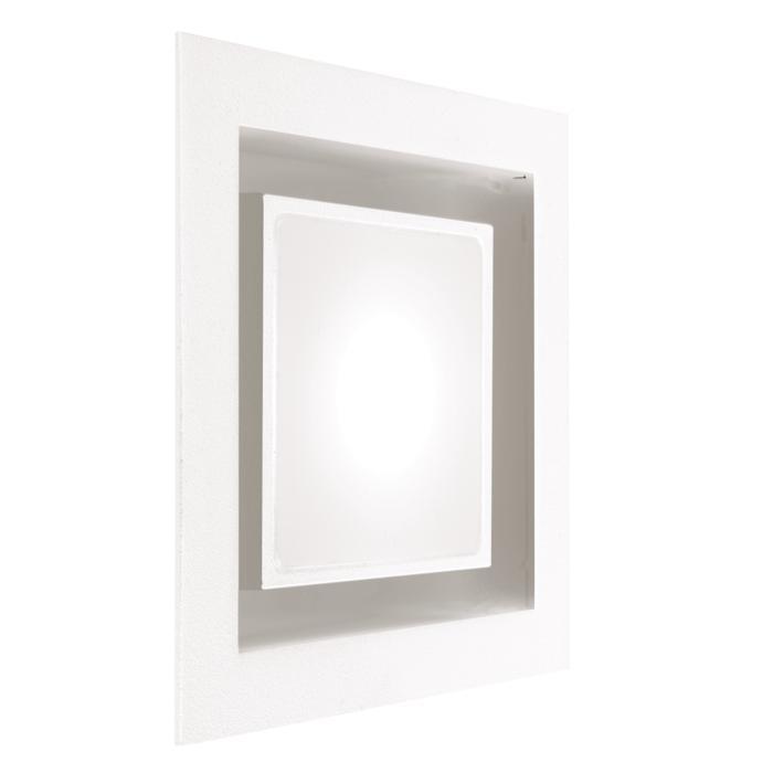 1344.S2/.. - OSCAR, inbouw wandlicht - met glas - zonder LED driver
