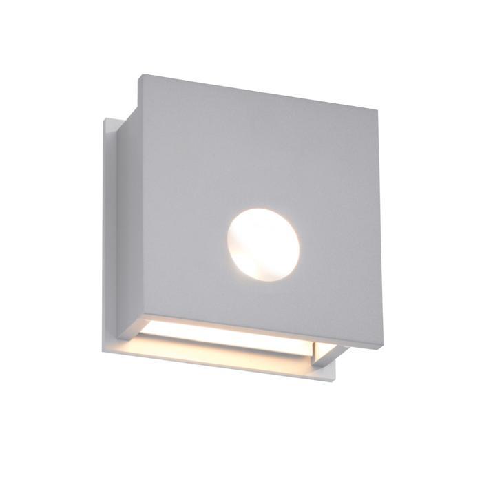 1250/.. - OUTSIDER, opbouw wandlicht - vierkant - vast - down - zonder transfo