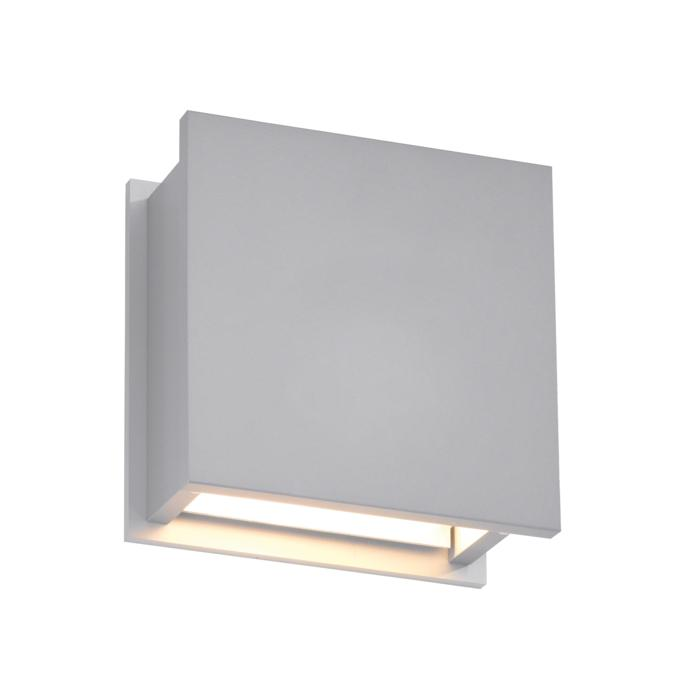 1250C/.. - OUTSIDER, built-up wall light - square - fixed - down - without transformer