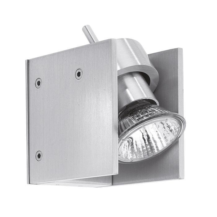 1272/.. - PAVO, opbouw wandlicht - vierkant - zonder transfo