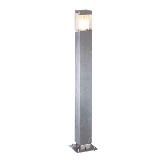 T299.750/.. - PORTO, tuinpaal - standaard gezandstraald wit glas