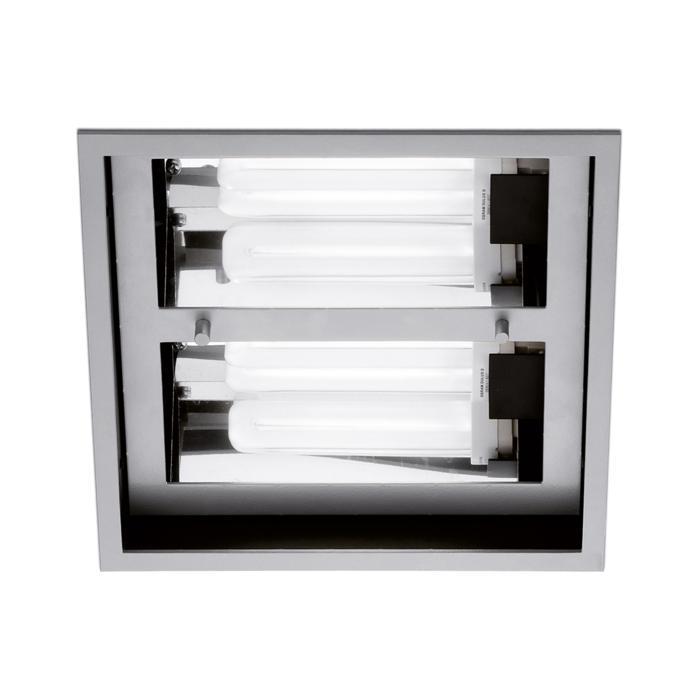 1256/.. - QUADRO, inbouw plafondverlichting - met magnetische ballast