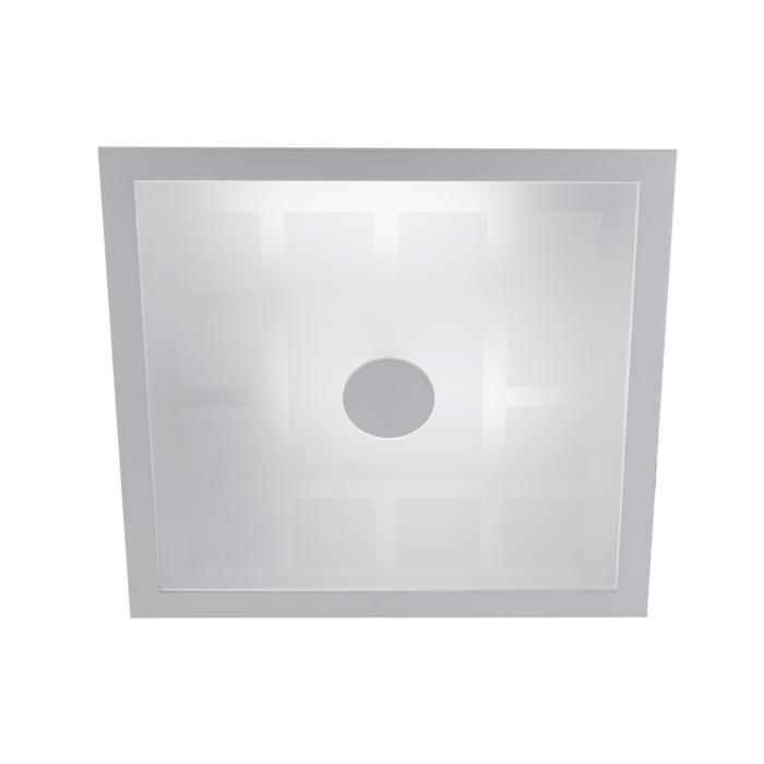 1258/.. - QUADRO, inbouw plafondverlichting - dimbaar - met glas - met electronisch dimbare ballast