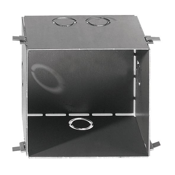 1676SQ/.. - CATWALK SQUARE BOX, inbouwdoos voor vierkante opening