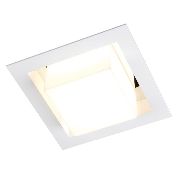 1520C.LED/.. - SNOWBOX LED, built-in ceiling light - square - without LED driver