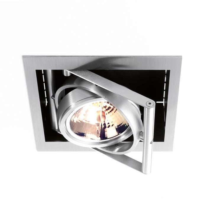 950/.. - SPINNER, inbouw plafondverlichting - vierkant - richtbaar - zonder transfo