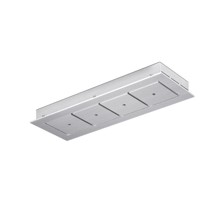752.220/.. - SQUARE 230V, plafondverlichting - spots afzonderlijk te bestellen