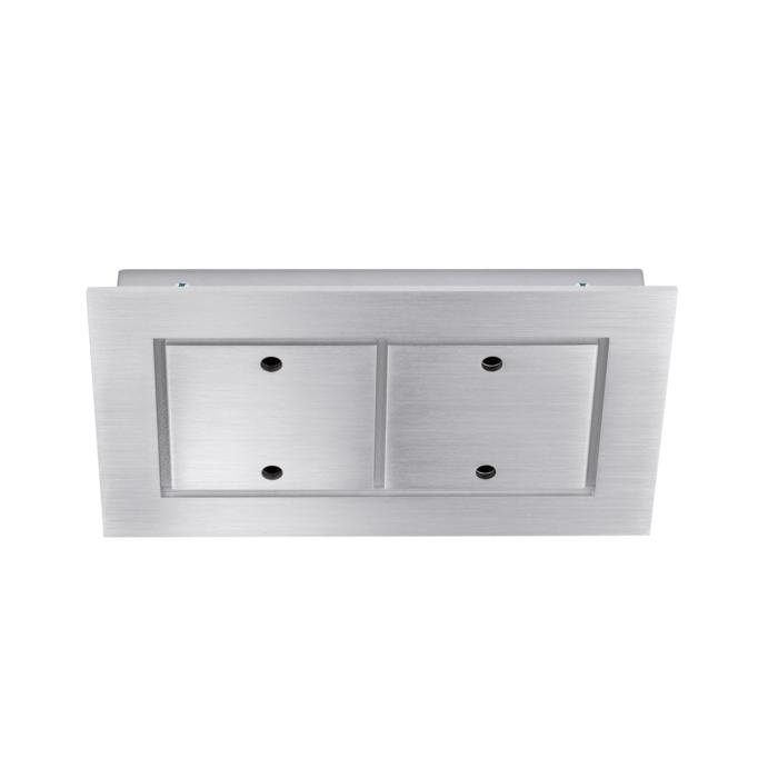 938.220/.. - SQUARE 230V, ceiling light - spots to be ordered separately - without transformer