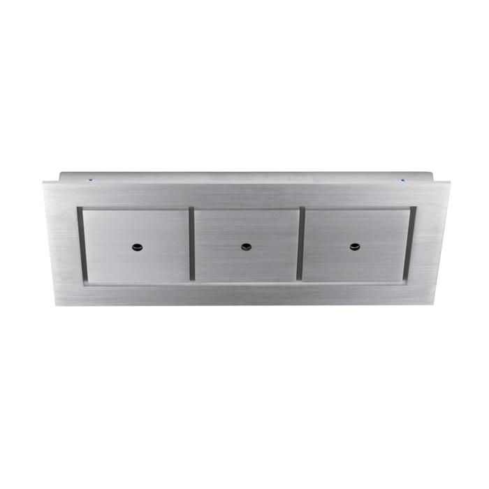 940.220/.. - SQUARE 230V, plafondverlichting - spots afzonderlijk te bestellen