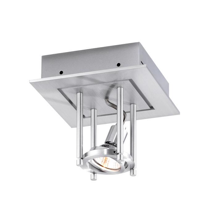 991/.. - SQUARE SALSA, plafondverlichting - richtbaar - met transfo