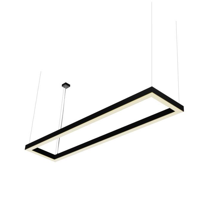 2988/.. - TIMES KADER, lichtsysteem - met ophanging - wordt op maat gemaakt - met LED driver
