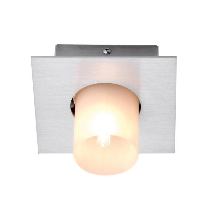 911/.. - TITUS 230V, opbouw plafondverlichting - vast - met glas