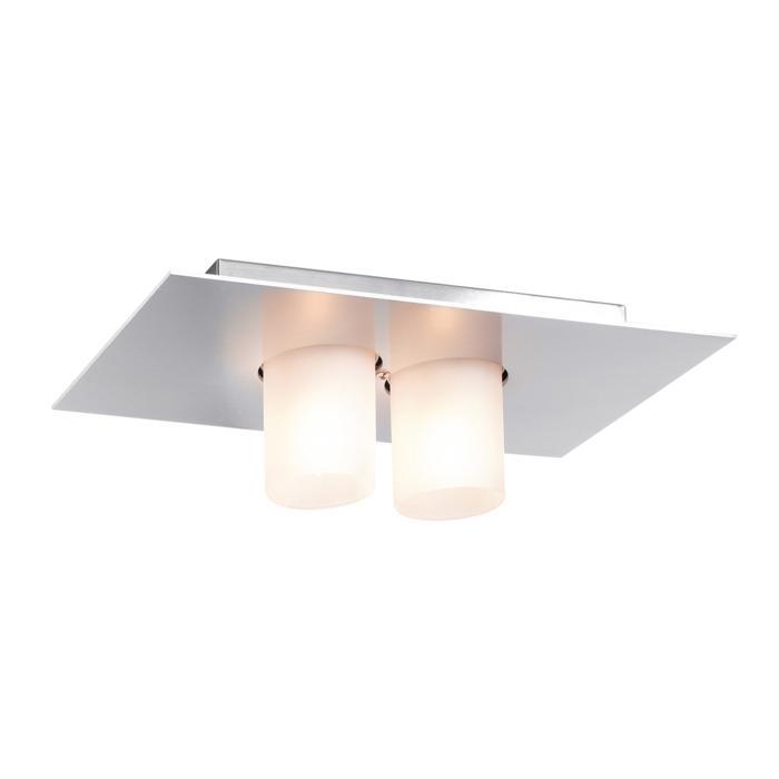 912/.. - TITUS 230V, opbouw plafondverlichting - vast - met glas