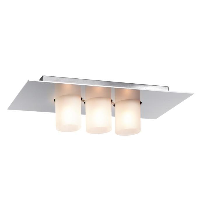 913/.. - TITUS 230V, opbouw plafondverlichting - vast - met glas