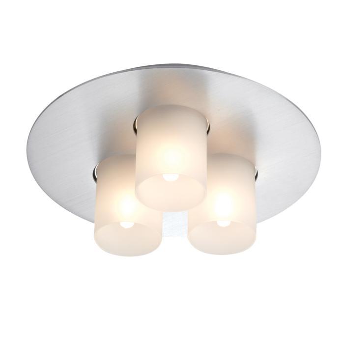 997/.. - TITUS Round, opbouw plafondverlichting - vast - met glas