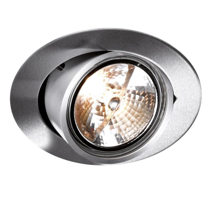 1490/.. - TORPEDO, inbouw plafondverlichting - rond - richtbaar - zonder transfo